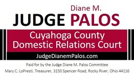 Re-Elect Judge Palos Logo
